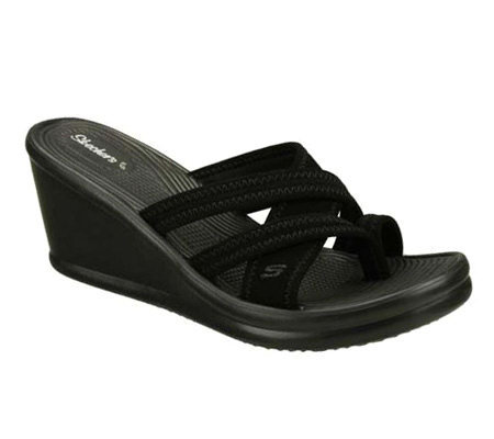 Skechers Cali Rumblers Beautiful People Thong Sandal
