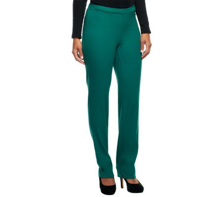 Isaac Mizrahi Live! Regular 24/7 Stretch Full Length Pants