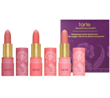 tarte Amazon Butter Lipstick Trio