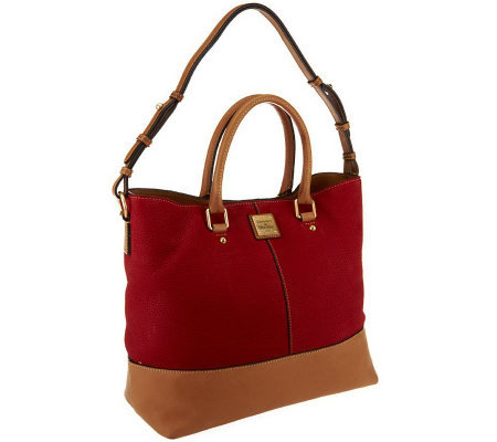 Dooney & Bourke Nubuck Leather Chelsea Shopper