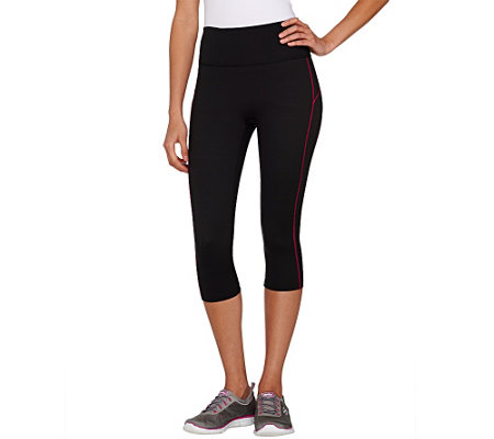 Spanx Compression Knee Pant with Contrast Stripe