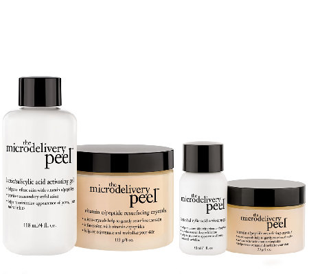 philosophy microdelivery vitamin c peel home & away kit