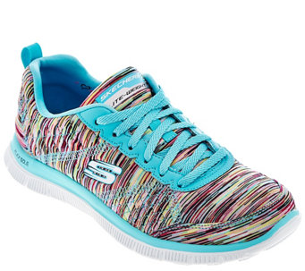 Skechers Space-dyed Sneakers with Memory Foam - Whirl Wind - A277958
