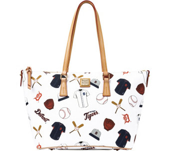 Dooney & Bourke MLB Tigers Zip Top Shopper - A280058