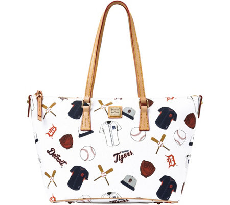 Dooney & Bourke MLB Tigers Zip Top Shopper