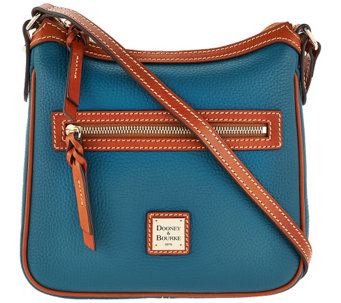 """As Is"" Dooney & Bourke Pebbled Leather Crossbody Bag - A280158"