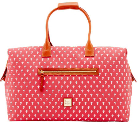 Dooney & Bourke MLB Phillies Duffel Bag