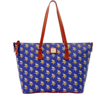 Dooney & Bourke NFL Vikings Shopper - A285858