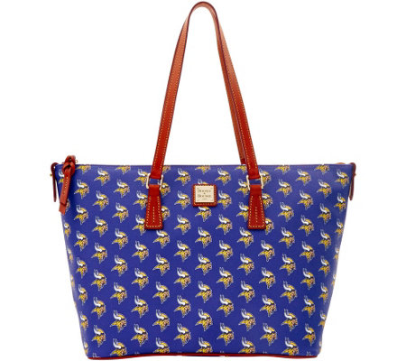 Dooney & Bourke NFL Vikings Shopper