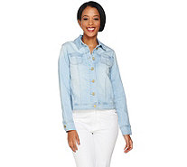 Isaac Mizrahi Live! TRUE DENIM Jean Jacket - A288658