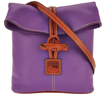 Dooney & Bourke Pebble Leather Toggle Crossbody