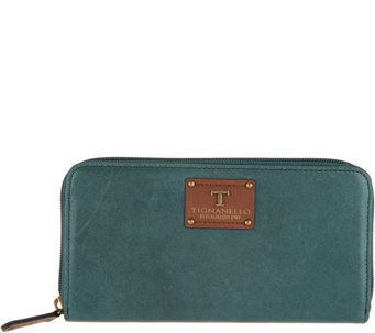 Tignanello Vintage Leather Zip Wallet - A292858