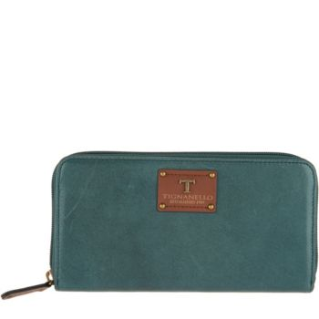 Tignanello Vintage Leather Zip Wallet