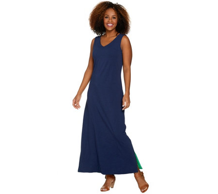 """As Is"" Belle by Kim Gravel Essentials Reversible Tank Maxi Dress"