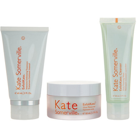 Kate Somerville 3-Piece ExfoliKate Glow Set