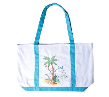 Let the Fun Begin Tote