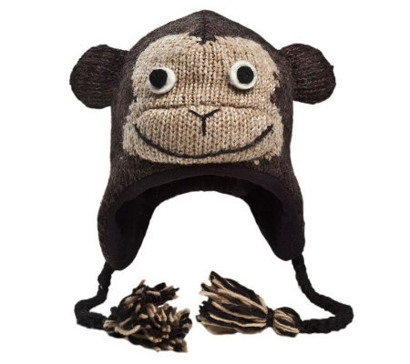 Nirvanna Designs Cheeta Monkey Hat