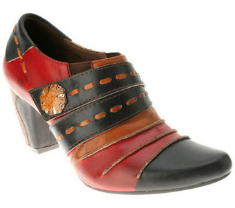 Spring Step Wondrous Leather Booties - A325358