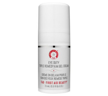 First Aid Beauty Eye Duty Triple Remedy AM GelCream