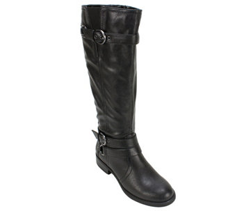 White Mountain Tall Shaft Boots - Loyal - A356158