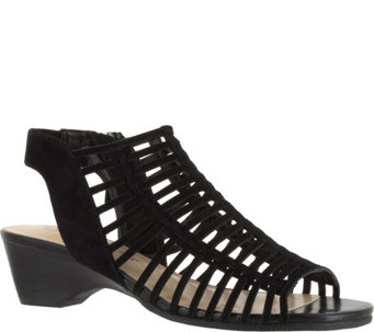 Bella Vita Leather Gladiator Sandals - Pacey - A356958