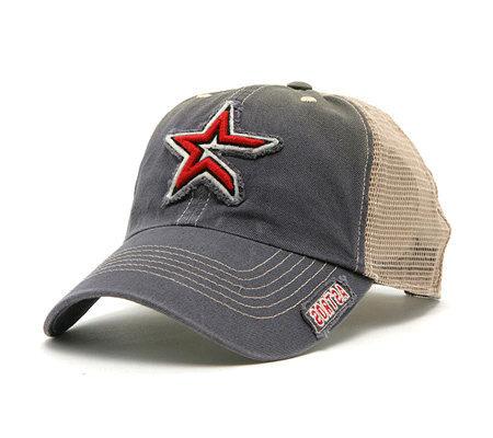 Mlb Houston Astros Mongoose Mesh Back Adjustable Cap Qvc Com