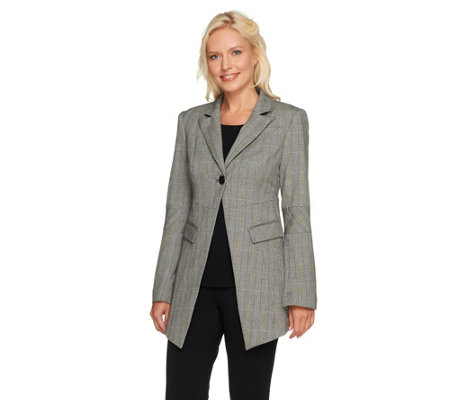 G.I.L.I. Seamed Jacket with Bell Sleeves