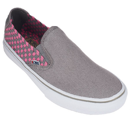 Skechers Bobs Stretch Weave & Canvas Slip-on Sneakers - Dappled