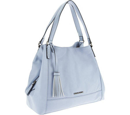 Tignanello Glove Leather Triple Compartment A-Line Shopper