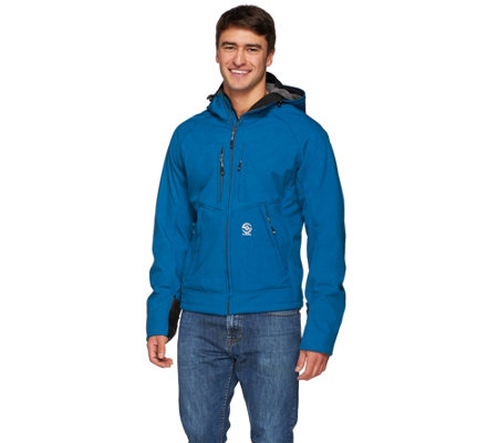 Loki 4-in-1 Men's Mountain Hoodie w/Built In Gloves