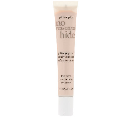 philosophy no reason to hide transforming eye cream