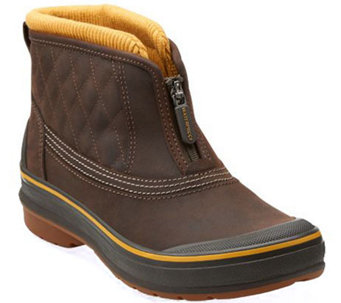 Clarks Outdoor Waterproof Slip-on Ankle Boots - Muckers Slope - A271059