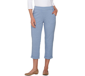 Linea by Louis Dell'Olio Pull-On Cropped Pants - A273859
