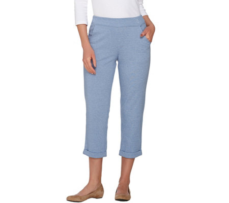 Linea by Louis Dell'Olio Pull-On Cropped Pants