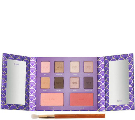 tarte Full Face of Gorgeous Eye & Cheek Palette w/Brush