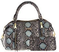 Aimee Kestenberg Pebble Leather Large Satchel & Pouch - Jaylin - A275859