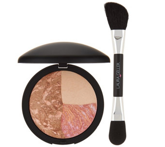 Laura Geller Baked Color & Contour Sunset Glow w/ Brush - A280859