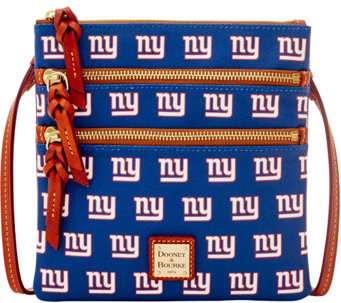 Dooney & Bourke NFL Giants Triple Zip Crossbody - A285659