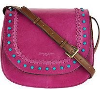 Tignanello Vintage Leather Saddle Bag - A292859