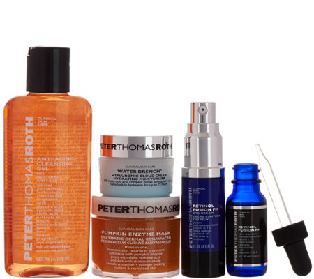 Peter Thomas Roth 5pc. Antiaging Starter Kit Auto-Delivery