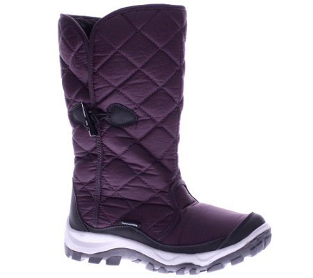 Spring Step Waterproof Nylon Winter Boots - Lunar