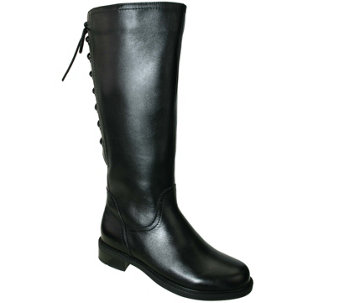 David Tate Tall Leather Riding Boots - Zoe 20 - A341459