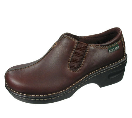 Eastland Women's Sequoia Leather Twin Gore Slip-on Loafer