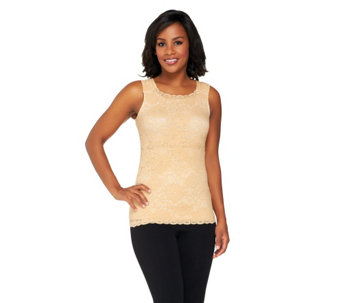 Kathleen Kirkwood Lace Cami with Tummy Control Tube - A224160