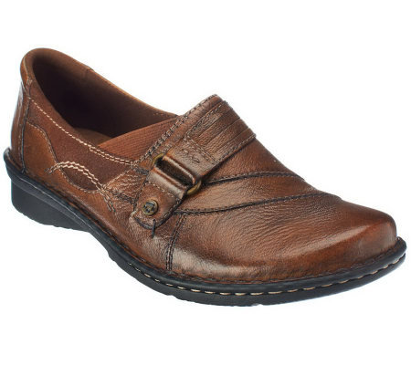 Earth Origins Meadow Leather Shoes with Monk Strap