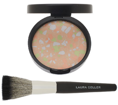 Laura Geller Color Optics CC Finishing Powder w/ Brush