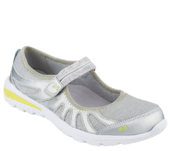 Ryka Leather Mary Jane Sneakers with CSS Technology - Splendor - A262760