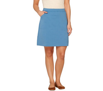 Liz Claiborne New York Pull-on Ponte Knit Skort - A263460