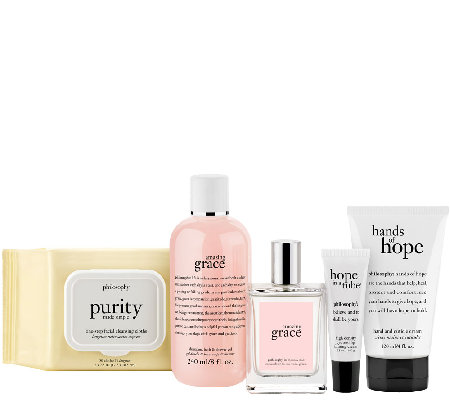 philosophy purity, hope & grace 5pc care package