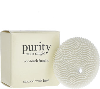 philosophy purity one- touch facialist silicone brush head - A270660